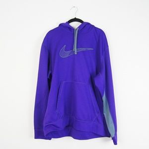 Nike | Purple Thema-Fit Hoodie